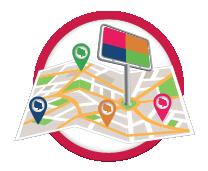 la mappa geolocalizzata degli spazi pubblicitari e impianti outdoor