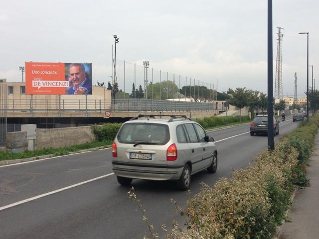 Poster 6X3 monofacciale Ingresso Albenga