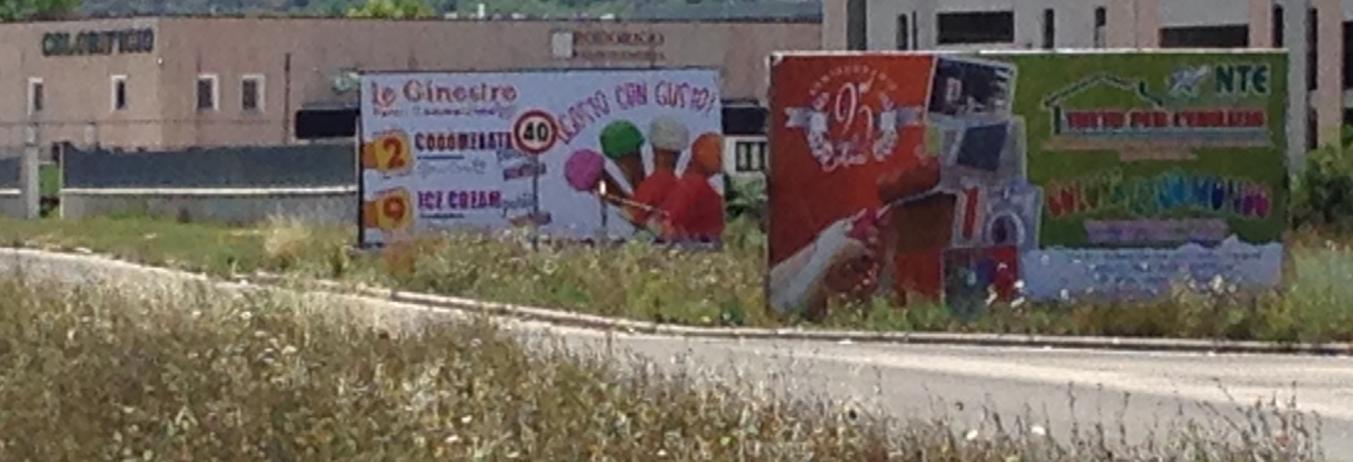 Carrelli 6x3 bifacciali - Via Pertini