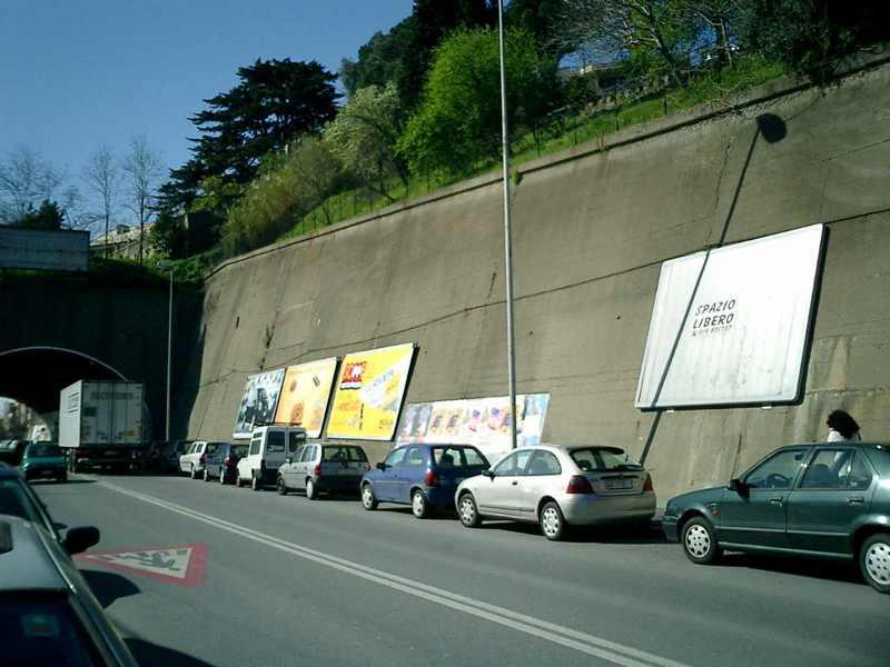 Impianto 4x3 monofacciale a muro