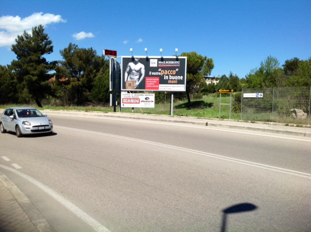 Impianto Prismatico 6x3 pubblicità rotante