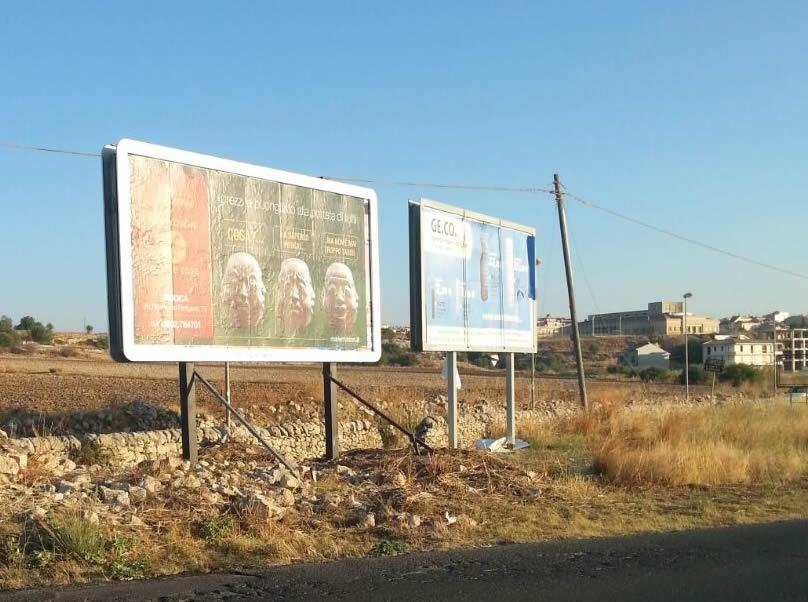ROSOLINI impianto 6x3 pubblicità esterna (prov. Siracusa)