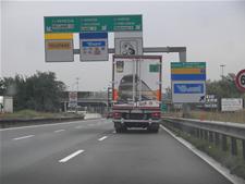 Autostrada, Camion TIR di 80MQ