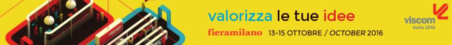 fiera VISCOM comunicazione visiva 2016 x concessionarie pubblicità esterna