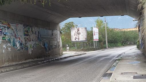 Impianto 4x3 monofacciale su strada provinciale