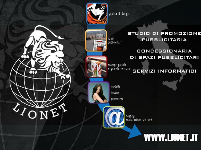 LIONET Concessionaria di spazi pubblicità esterna Cosenza