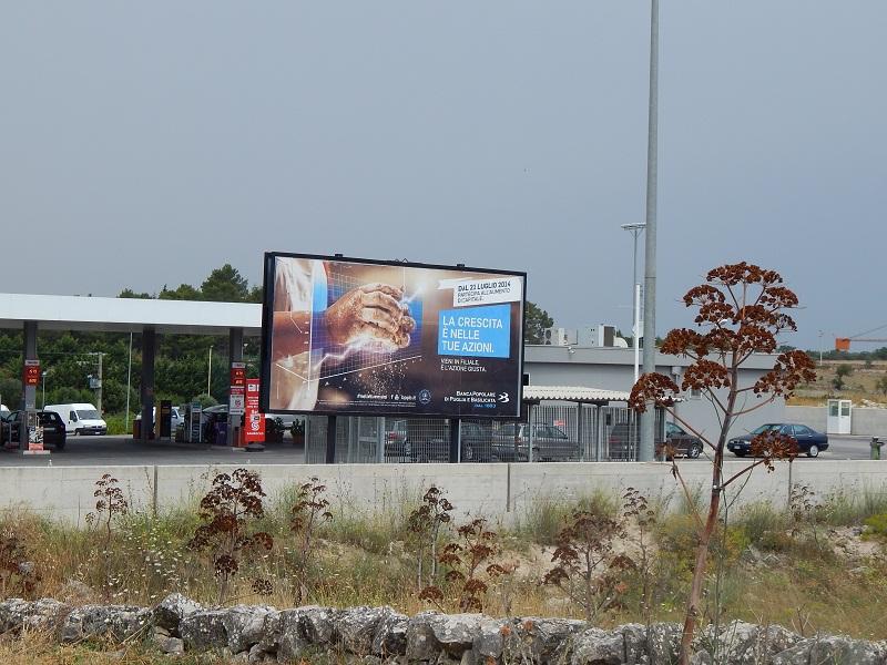 I Capricorni: impianti pubblicitari 6x3 mt