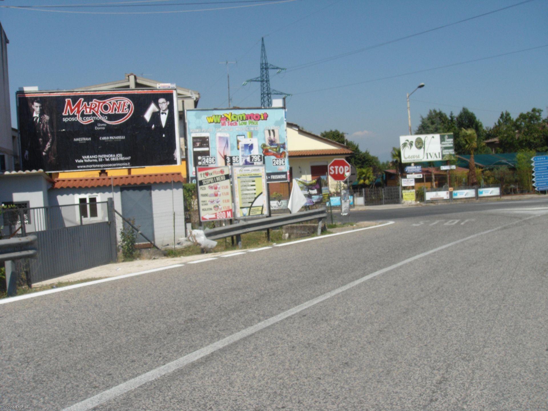 6x3 Vairano, uscita A1/bivio Casilina