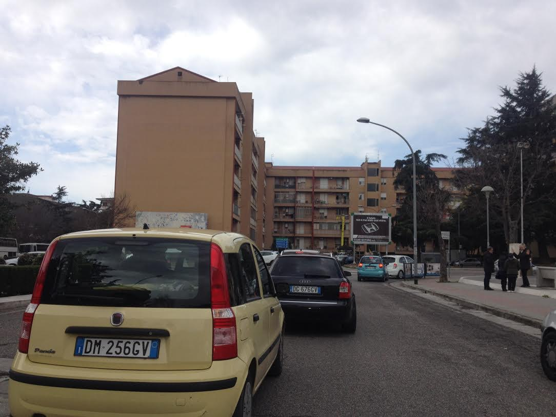 Impianto 6x3 Caserta Piazza Pitesti