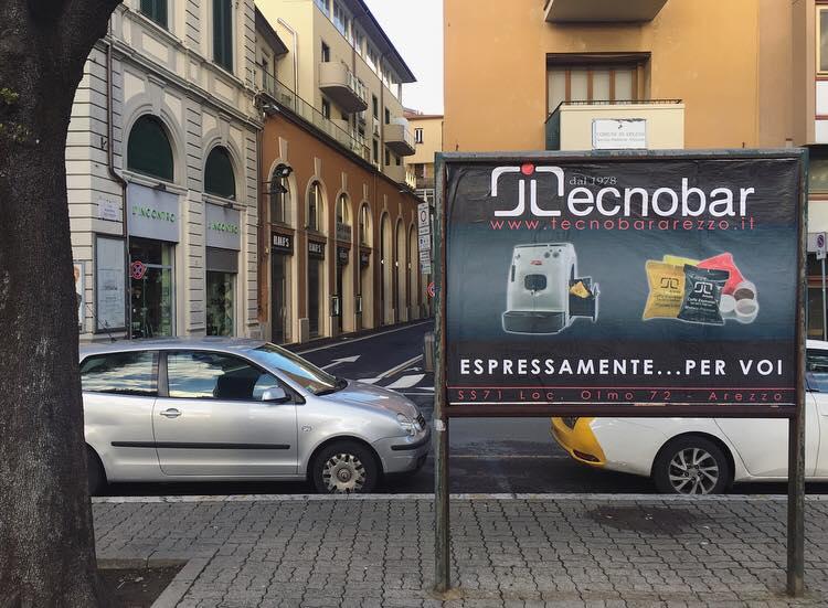 Affissione Tecnobar