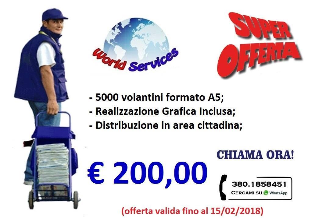 Volantinaggio stampa e distibuzione volantini a Siracusa, Catania, Ragusa