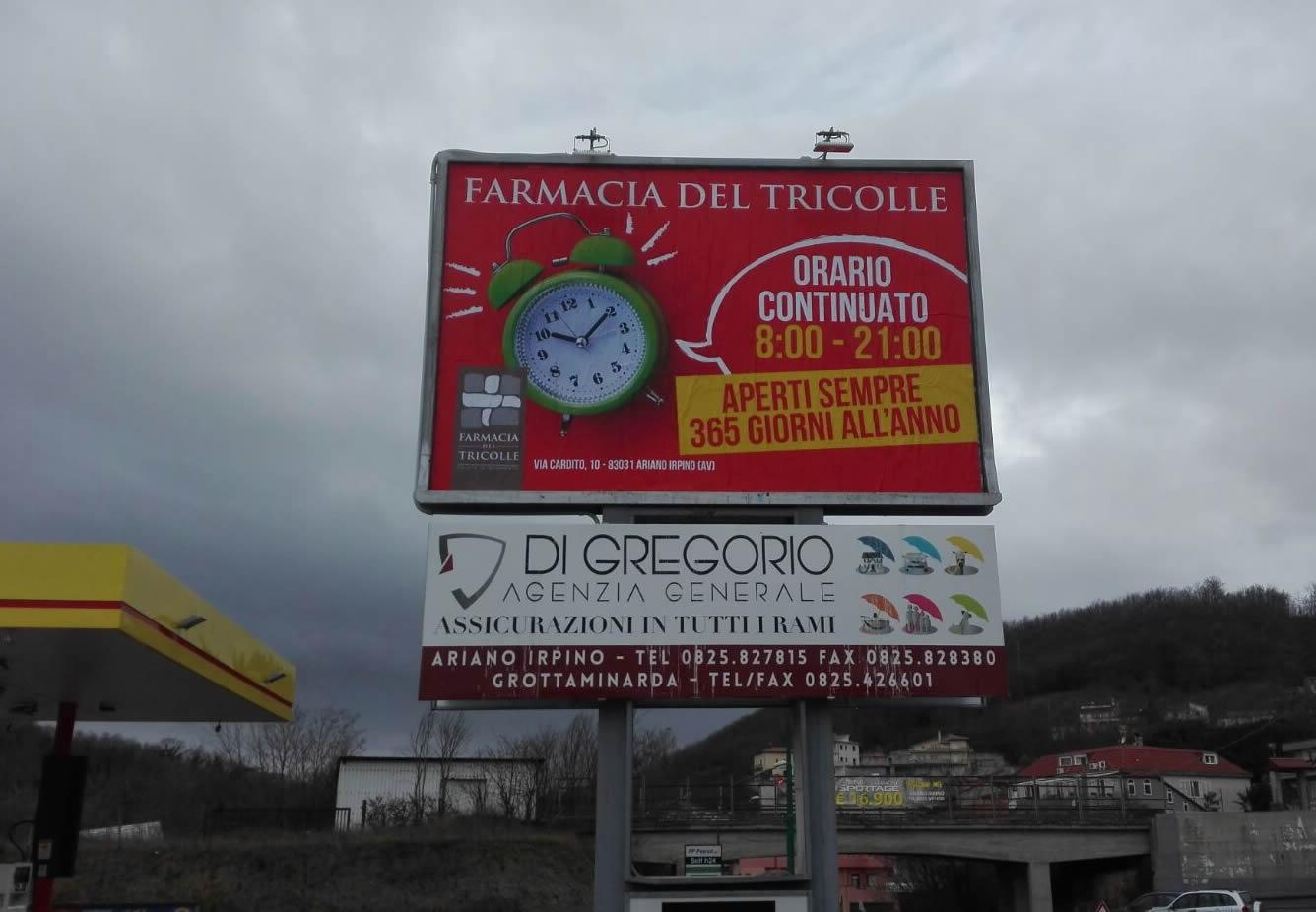 Impianto affissioni 3x2 Ariano Irpino (Avellino)