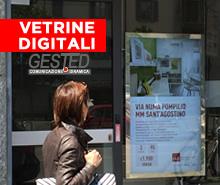 vetrine digitali ldc led per negozi