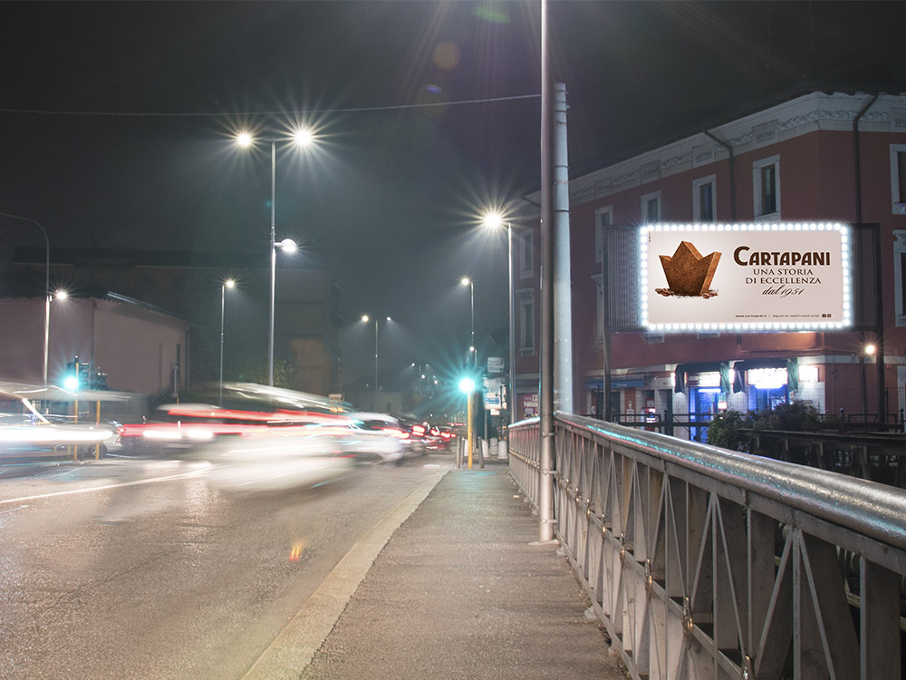 PONTE MELLA 4X2 LUMINOSO PVC CORNICE LED