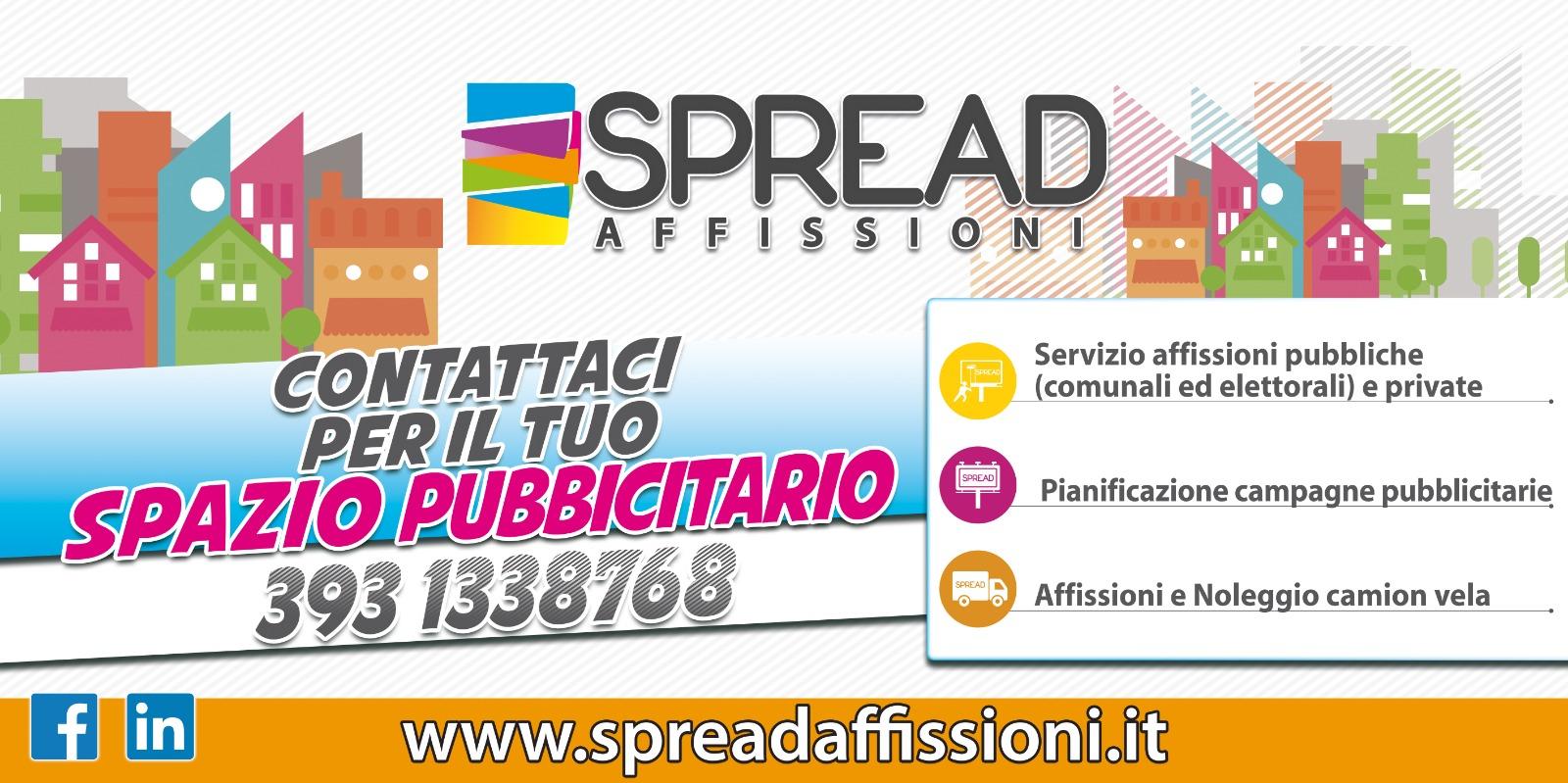 Logo spread affissioni